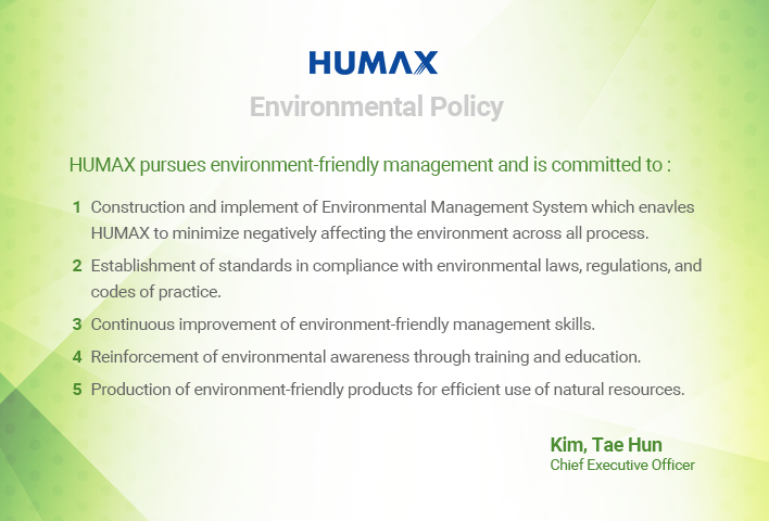 Environment Policy card