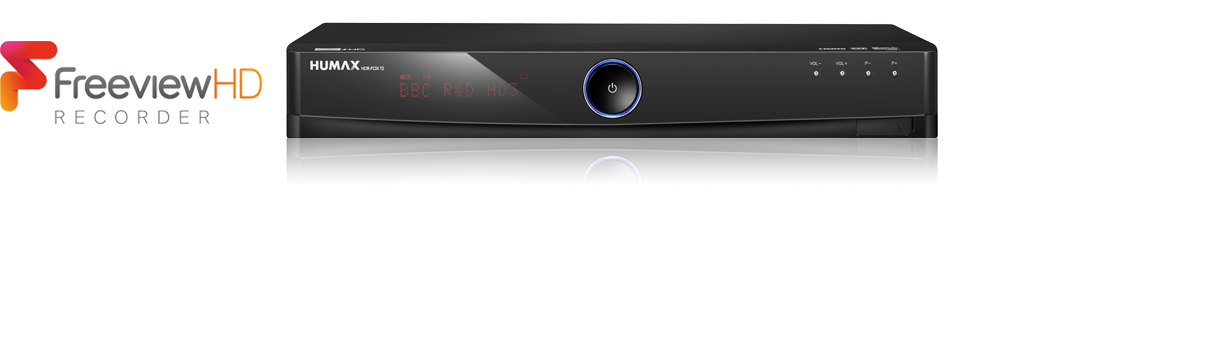 Humax HDR-FOX T2 Freeview+ Digital Recorder Drivers for PC