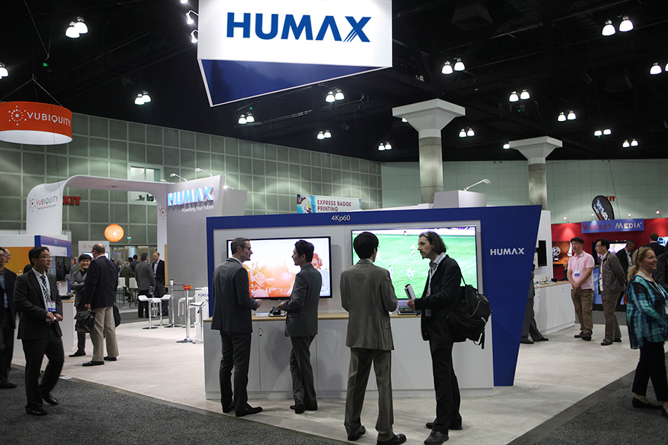 Humax to Showcase UltraHD Set-top Boxes for Global Operators at The Cable Show 2014 – April 29, 2014